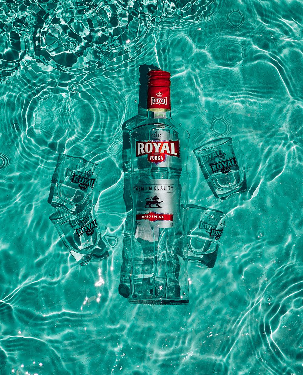 royal vodka social media